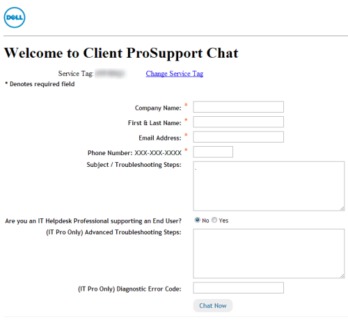 Dell Chat