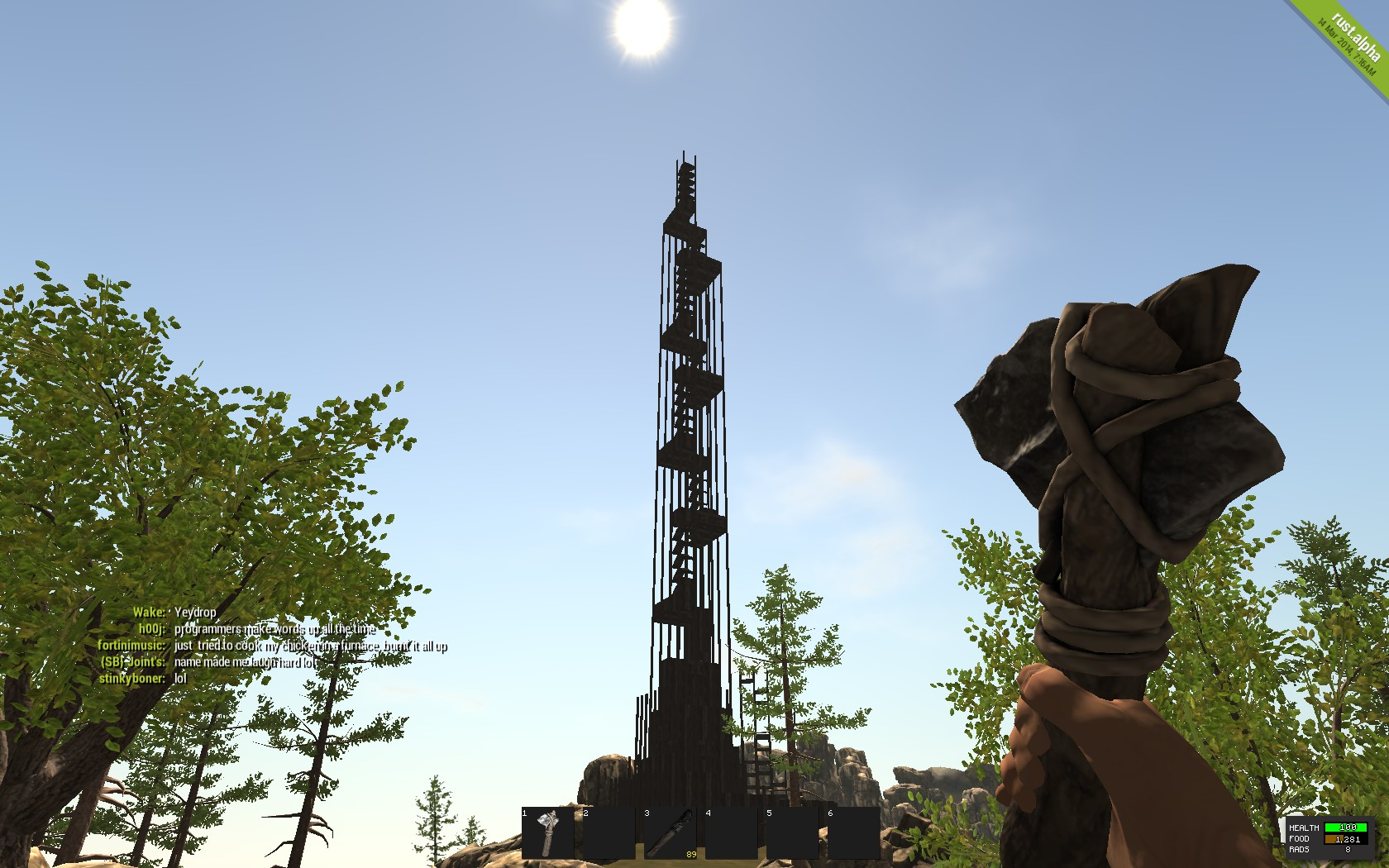 Tower to the sky