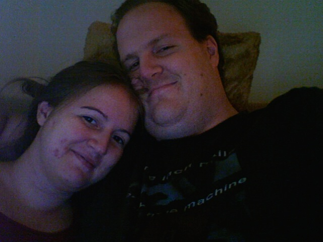 Annie and me from October 2007